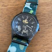 Disney Jam Home Pro Mickey Mouse Analog Menand039s Watch Made In Japan