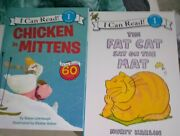 I Can Read Level 1 2 Books Chicken In Mittens And Fat Cat On The Mat Euc