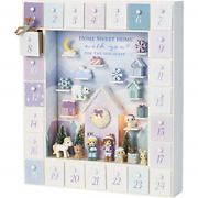 Precious Moments 201407 Winter Moments Led Wood/resin Advent Calendar One Size