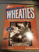 Jackie Robinson Wheaties Cereal Box 1996 Never Opened