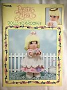 Precious Moments Dolls To Crochet 16 Patterns Book Booklet 4 Designs Angel