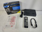 Rca Dta800b1 Digital To Analog Tv Converter Box With Remote Control