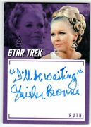 Star Trek Tos Archives And Inscriptions A40 Shirley Bonne As Ruth Autograph V2