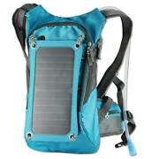 Backpack - Solar Charging Panel - Pack With Water Hydration System
