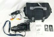 Sony Handycam Ccd-fx230 Video 8 Camera 8mm Camcorder Charger/ac Power Bag Batter