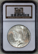 1923-p Ms65 Ngc Peace Silver Dollar Premium Quality Superb Eye Appeal
