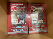 2013 Bowman Hobby Boxes - 6 Sealed Boxes With 24 Packs/10 Cards Per Pack.