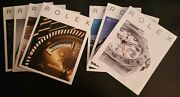 Rolex Watch Magazine Collection Set Of 7 Issues Rolex Magazine Issue 1-6 And 8