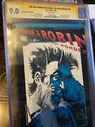 All-star Batman And Robin 8 Retailers Incentive Edition Cgc 9..0 Ss By Jim Lee