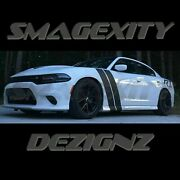 Custom Decal Graphic Racing Stripe For Charger Rt Srt Hash Hemi 392 Scat Pack