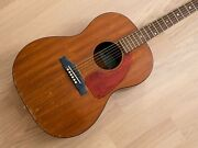 1965 Epiphone Caballero Ft-30 Vintage Acoustic Guitar Mahogany By Gibson