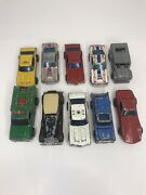 Vintage 60and039s 70and039s Hot Wheels Redline Lot Of 10 Cars Stingray Maxi Taxi And More