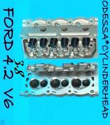 2 Ford Mustang Cougar Truck 3.8 4.2 Ohv Cylinder Heads Castyf2e 97-04 No Core