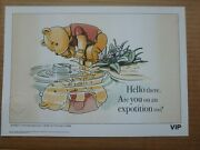 Lego Vip Winnie The Pooh Hello There Are You On A Fine Art Print 582/1000