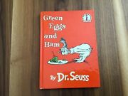 Green Eggs And Ham By Dr. Seuss 1960 Hardcover Book