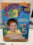 Bumblebee Kids Learning Numbers 123s Vol. 1 And 2 Numeracy And Sequencing Dvd New