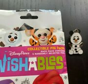 2020 Disney Parks Wishables Pins - Olaf From Frozen Anna Elsa Snowman Sold Out