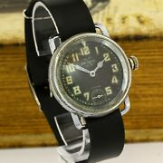 Helvetia Wwii Military Pilot Officers German Airforce Luftwaffe Watch 1940and039s
