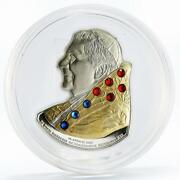 Cook Islands 5 Dollars 80 Anniversary Of Pope Benedict Xvi Silver Coin 2007