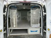 Globelyst Commercial Grade Storage System And Shelf Ford Transit Connect Utility