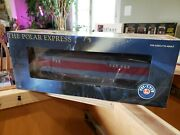 Lionel The Polar Express Baggage Car W/light 6-25135 New In Box 2005