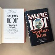 Salem's Lot By Stephen King Signed, Early Trade Printing, Hardcover In Jacket