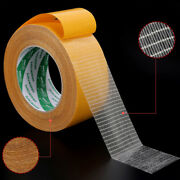 Glass Fiber Mesh Double Sided Sticky Tape Super Strong Sticky Adhesive L=25m