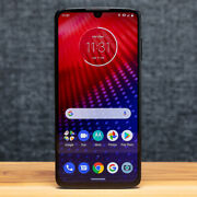 Motorola Moto Z4 - 128gb - Flash Gray Verizon 1 Year Warranty Refurbished