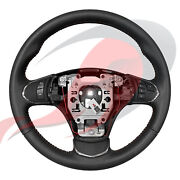 2005-2013 C6 Corvette Genuine Gm Manual Leather Steering Wheel Red Stitching