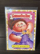 2020 Garbage Pail Kids Food Fight Betty Spaghetti Gold Parallel 14/50
