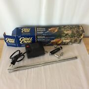 Universal Rotisserie The Grill Care Company Fits Most Grills Nib Fathers Day Bbq
