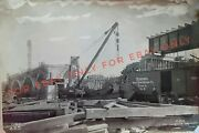 12 Vintage Photos 1914 Construction Of Cleveland Youngstown Ohio Railroad Candy