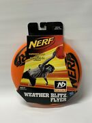 New Nerf Weather Blitz Flyer, Flying Disc Frisbee, Rare Discontinued 2009 Hasbro
