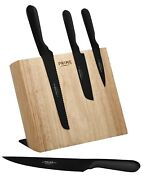Chicago Cutlery Prime 5-pc. Magnetic Block Cutlery Set New Open Box