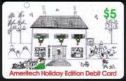5 Holiday Edition 1993 Home And Christmas Decorations Phone Card