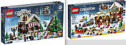 Lego Creator 10249 Winter Toy Shop And 10245 Santaand039s Workshop - New In Open Box
