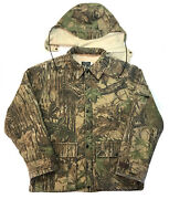 Vintage 10x Realtree Camo Field Jacket Thinsulate Lined Interior Sz L Hunting