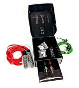 Pulse Adjustable Weighted Jump Rope Set Of Two Speed And Muscle Trainers New