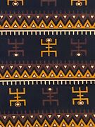 African Kente Cloth Cotton Fabric 6 Yards By 43