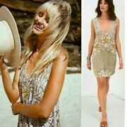 Spell And The Gypsy Elsa Sequin Dress - Eggnog