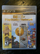 Best Of Playstation Network Vol. 1 Ps3 Sony New Sealed Tokyo Jungle Sound Shapes