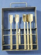 Richards 11-0358 Rack With Gouges Set Of 5 Straight