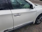 14-15 Infiniti Qx60 Oem Passenger Right Front Door Assembly Pearl White