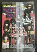 Metal Edge Magazine-sealed-kiss-rob Zombie-anthrax And Monster Magnet Korn Posters