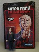 2018 Super7 Halloween Series Alfred Hitchcock Blood Spatter Reaction Figure New