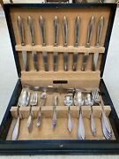 1847 Rogers Bros Argosy Silver Plated Silverware 52 Piece Vintage In Chest