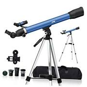 Telescopes For Kids Adults Astronomy Beginners 234x Magnification Travel