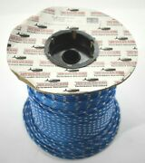 New England Ropes Sta Blue 3/16 X 600and039 Spool Rope C2103-06-00600 Boat Sail