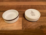 Royal Doulton Ec 1050 British Airways Concorde Butter Pat Dishes X2