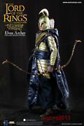 Asmus Toys 16 Lotr027a Lord Of The Rings Elven Archer 12inch Male Action Figure
